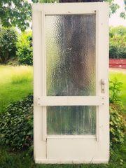 Haustür mit Glas und Seitenteil