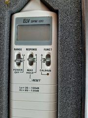 Schallpegelmeßgerät ELV SMP 120