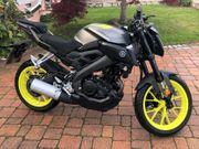 Yamaha MT-125 Top-Zustand Scheckheftgepflegt