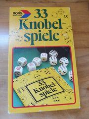 33 Knobelspiele Würfelspiele mit Anleitung