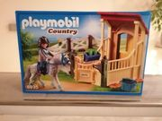 Playmobil Country Stall mit Koppel