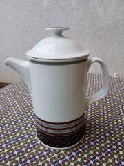 Neuwertige edle Tee Kaffeekanne von