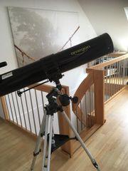 Spiegelteleskop Omegon EQ1