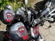 Golfset Wilson Über-Komplett-Set incl Wagen