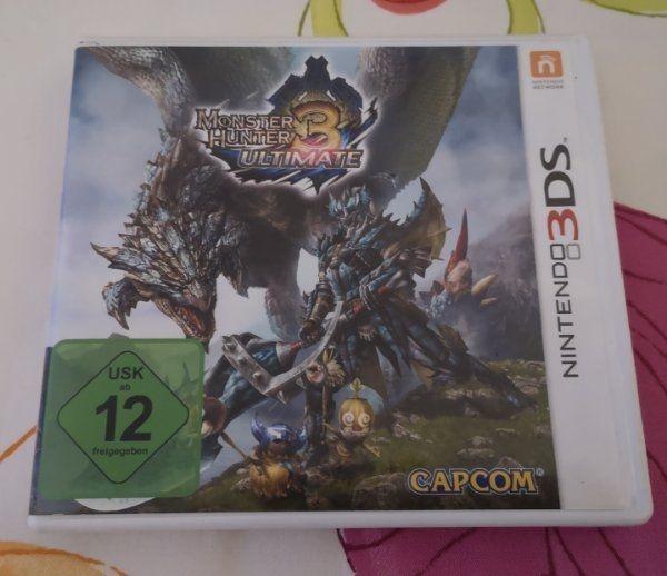 Monster Hunter 3 Ultimate Nintendo