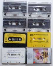 8 Kinderliederkassetten versch Songs