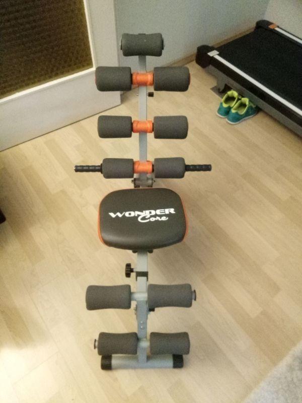 Neues Trainingsgerät Wonder Core