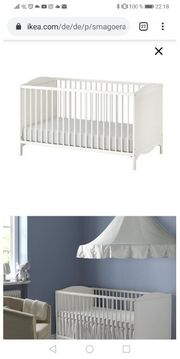 babybett Ikea mit Matratze