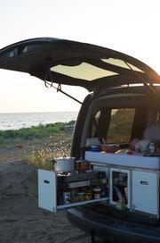 Campingeinbau für VW Caddy