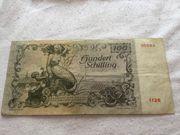 100 Schilling Banknote 1949 zu