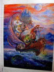 Fantasiemuschel-Puzzle 2 000