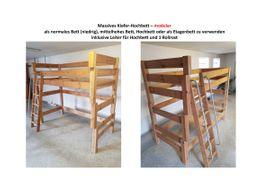 Kiefer-Hochbett massiv: Kleinanzeigen aus Calw - Rubrik Betten