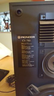 Lautsprecherboxen Pioneer CS-780 3 Way