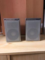 2 Lautsprecherboxen