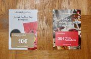 10EUR Roastmarket Kaffee Gutschein 30EUR