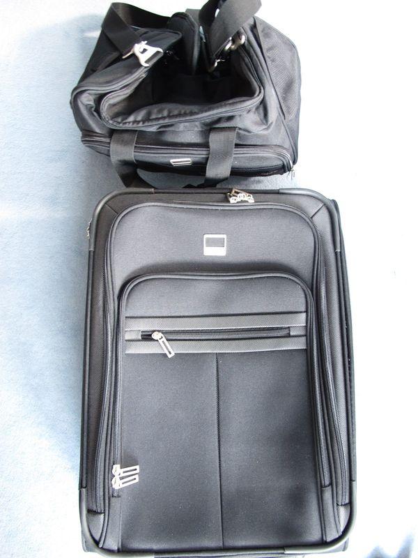 Trolley Bordtasche Farbe schwarz anthrazit