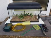 54 Liter Aquarium mit Zubehör