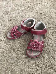 Mädchen Sommerschuhe Sandalen Riemchenschuhe Leder