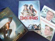 3x DVDs Catwoman Bandidas Ausnahmesituation