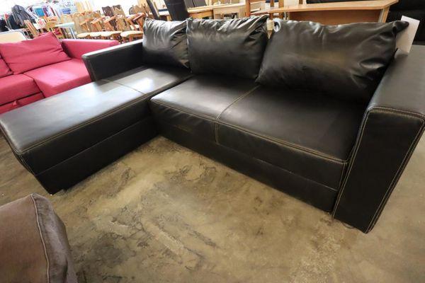Sofa L-Form 250x180 aus Leder hochwertig