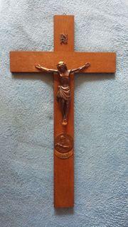 Holzkreuz Kreuz Kruzifix Bruder Konrad