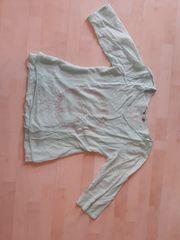Mintgrünes Baumwollshirt - Gr M