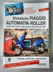 Reparaturhandbuch Klassische PIAGGIO Automatik-Roller 5