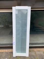 Klarglas- und Milchglastür zu verkaufen