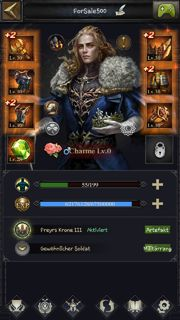 Clash of Kings Account