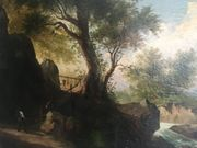 Ölgemälde Kunst Landschaftsmalerei um 1900