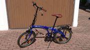 Klappbares Fahrrad
