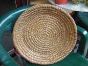 Strohdeckel bzw -Schale zu verkaufen