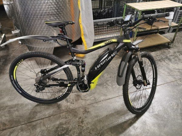 haibike e-bike full Nine SL