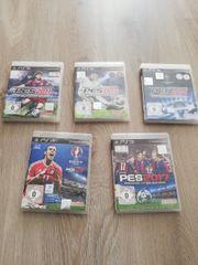 Verkaufe 5 x PS 3 -
