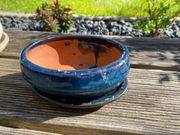 Bonsai Schale Ton mit Untersetzer -
