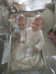 verkaufe alte Puppen