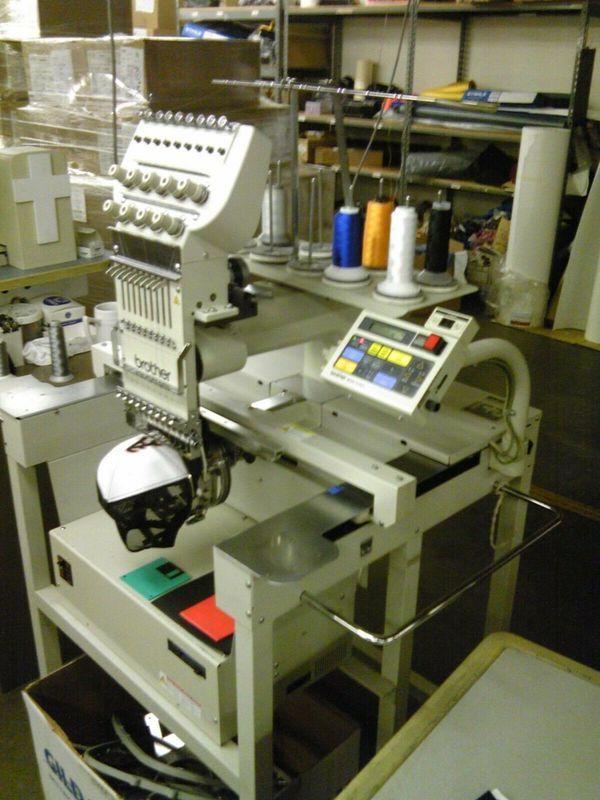 Stickmaschine Brother BAS-416A