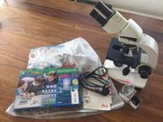 Mikroskop Leica DM 300 mit