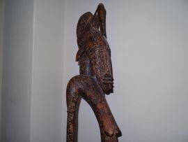 Sonstige Antiquitäten - Afrikanische Kunst Stampfer sehr alt