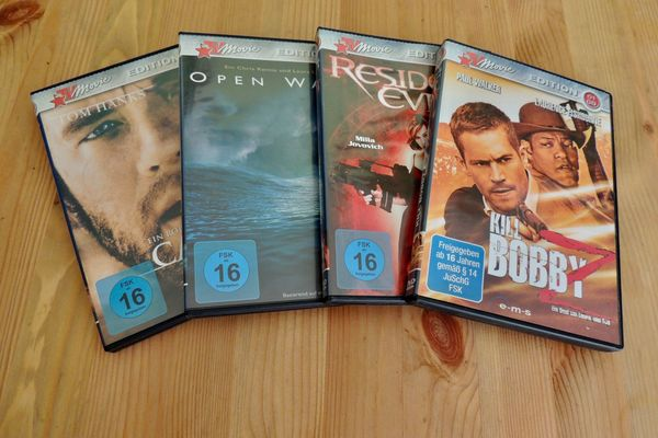 180 DVDs