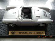 Porsche 550 A Spyder silber