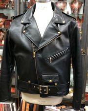 Original Vanson Motorrad Leder Jacke