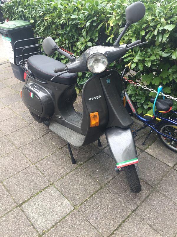 Vespa Pk 50 Xl In Karlsruhe Piaggio Vespa Ape Roller Kaufen Und