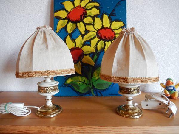 2 Nachttischlampen SAKU oder Kaiser