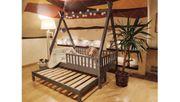 Hausbett Mit Barriere Mit Einem