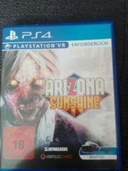 verschiedene PS 4 Spiele