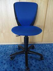 Schreibtischstuhl Kinder blau von Topstar