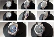 Uhren-Konvolut 8 Armbanduhren Herrenuhren Quarzuhren