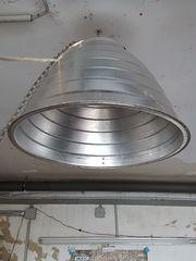 Alte Lampe für Retro-Loft-Vintage Design