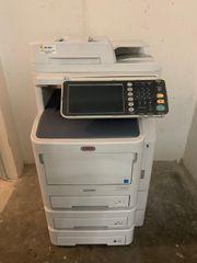 Oki ES7170 dn Multifunktionsdrucker schwarz